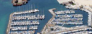 Socièté nautique de 163 emplacements à flots et 15 emplacements à terre.